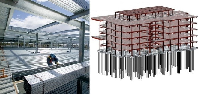 Types of Floors Systems for Multi-Storey Steel Structure Construction