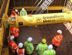 Movable Excavation Supports for Trench and Foundation Construction