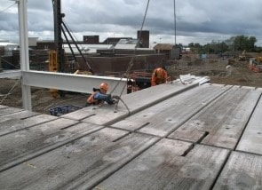 Construction Of Steel Structure Foundations Columns