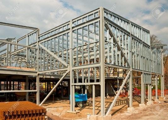 Skeleton Steel Framing System