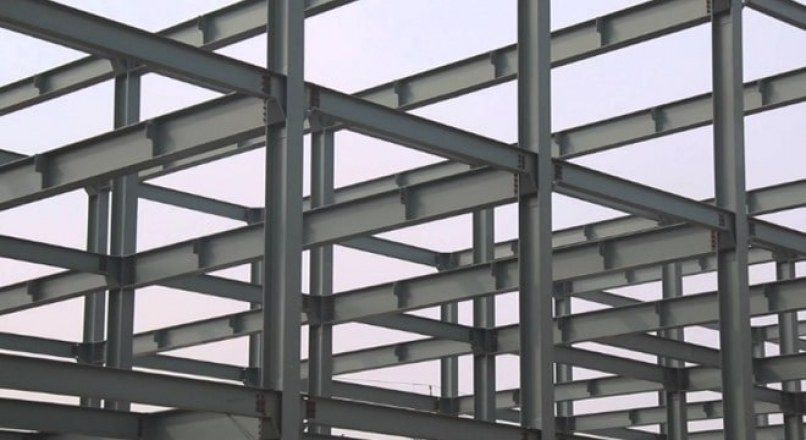 Construction of Steel Structure Foundations, Columns, Beams