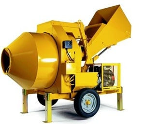 Non-Tilting Drum Mixers