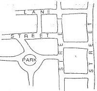 Street Map for Township Survey