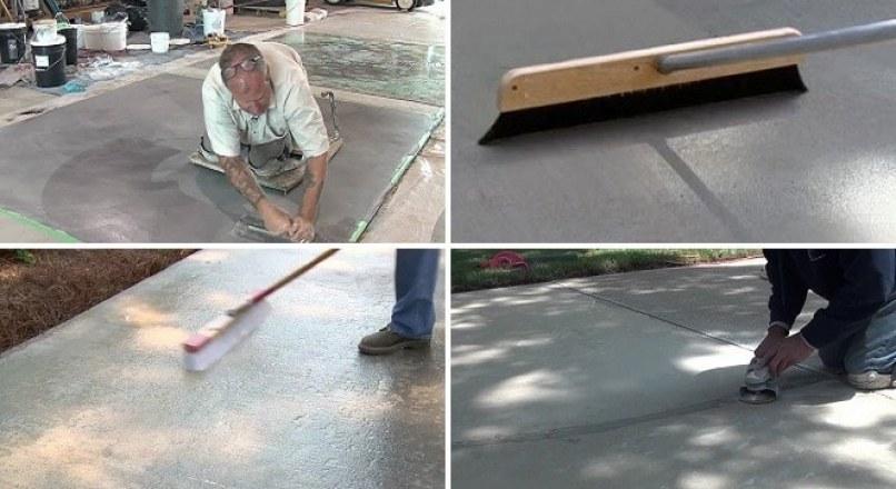 Concrete Resurfacing Repair Of Concrete Floor Or Pavement