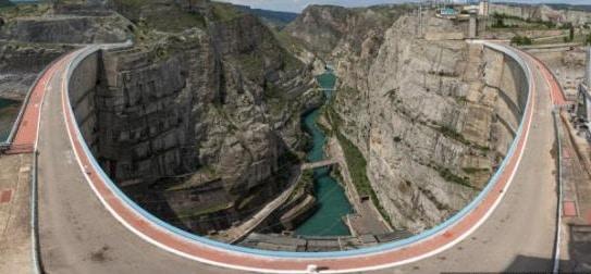 Double Curvature Arch Dam