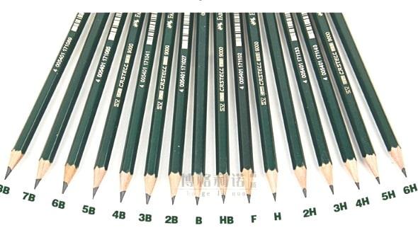 Grades of Pencil