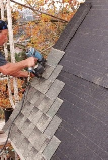 Repair of Asphalt Shingles