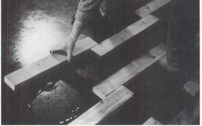 Screed Method of Wooden Flooring