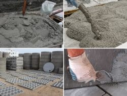 Cement Consumption Coefficients for Various Construction Works