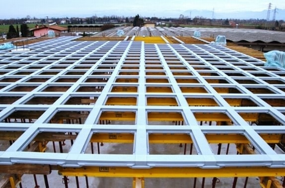 Waffle Slabs Formwork Support