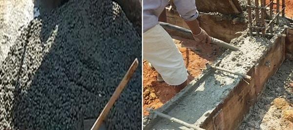 Concrete for Plinth Beam