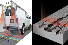 Laser Crack Measurement System for Pavements – Application and Advantages