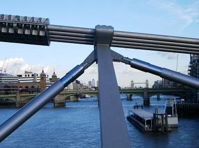Pier damper used in London Millennium footbridge