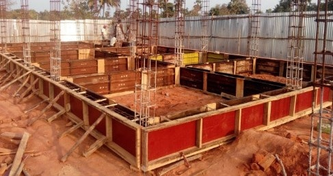 Formwork for Plinth Beam