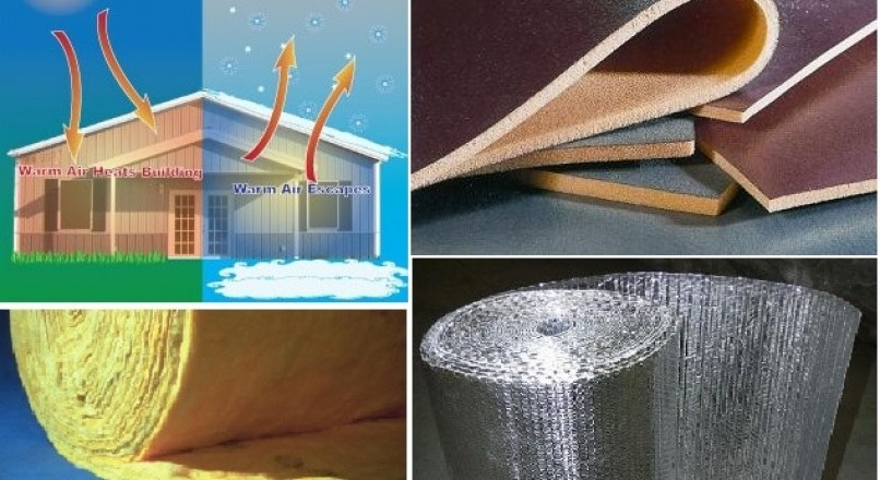 Materials and Methods of Thermal Insulation of Buildings