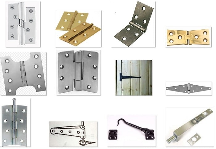 18 Types Of Fixtures And Fastenings For Doors And Windows