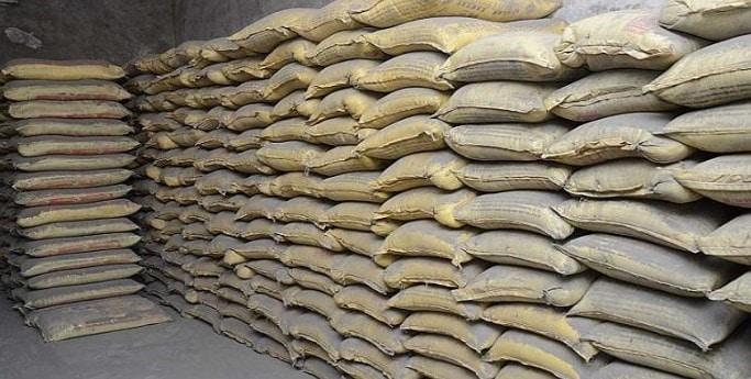 Storage of Cement