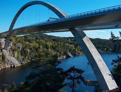 Svinesund Bridge in Norway