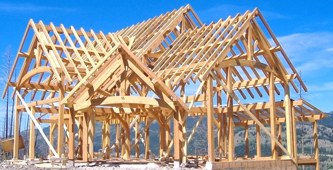 Why is timber construction popular in 21st century for Timber built homes plans