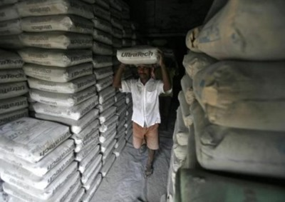 Withdrawal of Cement Bags