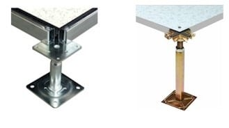 Raised Floor System Adjustable Pedestal