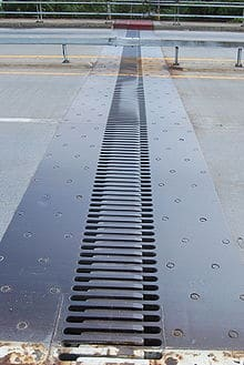 Expansion joint in bridges.