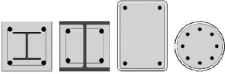 Composite column shape