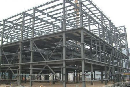 Industrial steel buildings (Chemical plant)