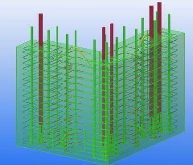 L-shaped column