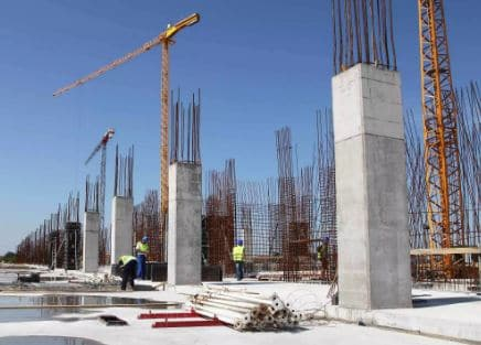 Reinforced concrete column