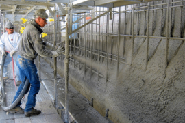 Dry Mix Process and Wet Mix Process for Shotcrete