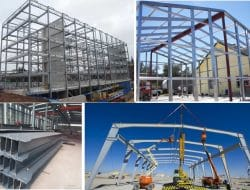 What is Steel Frame Structure Building Construction?