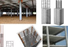 Types of columns in building construction