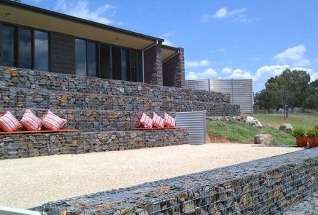 decorative gabion elements