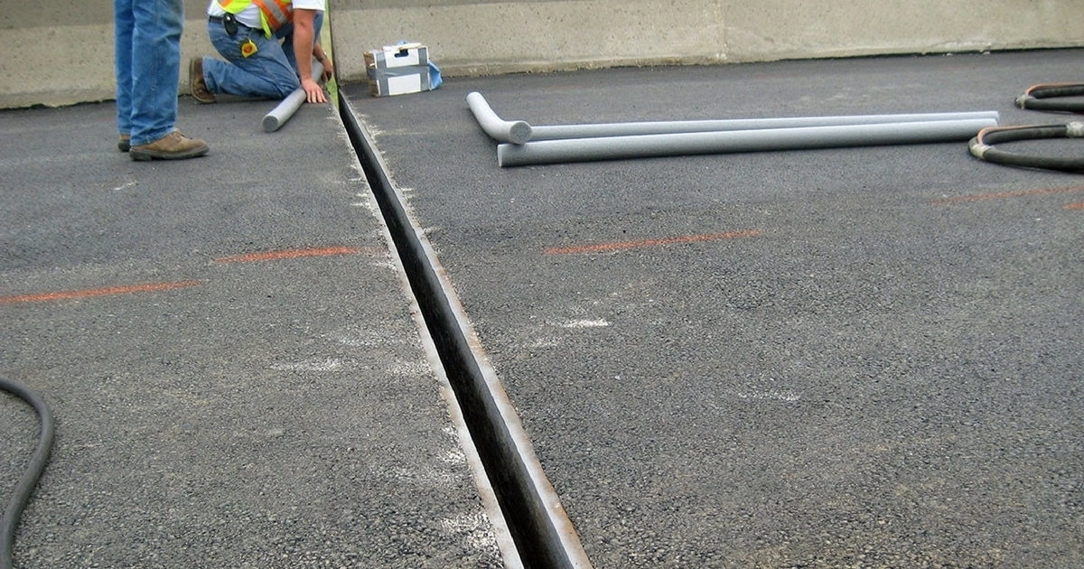 Expansion Joint In Concrete Types And