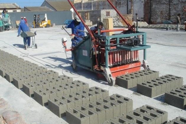 Sandcrete Block Manufacturing and Testing