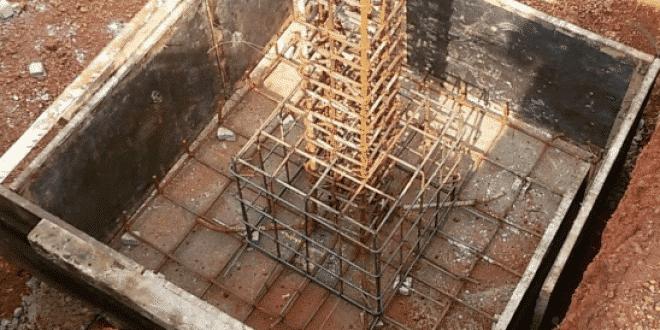 Footing Bar Bending Schedule (BBS) – Estimation of Steel