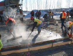 What is Concrete Temperature Limit?