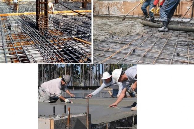 Concrete Floor Slab Construction Process