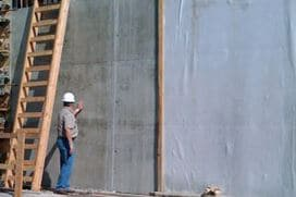 Wet Curing of Reinforced Concrete walls