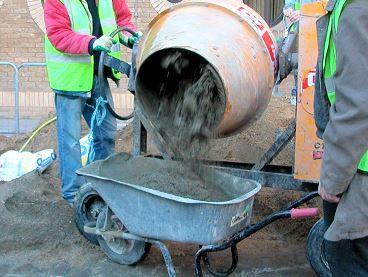 Onsite Concrete Mixer