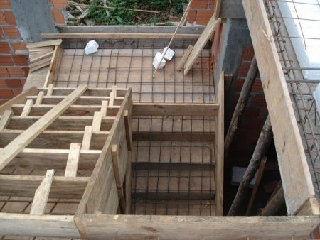 Steel Reinforcement for Stairs