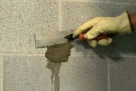 Concrete Repair by Dry Pack Mortar Method