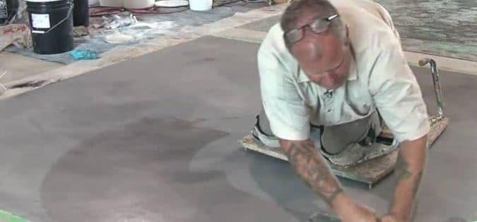 Finishing Concrete Surface