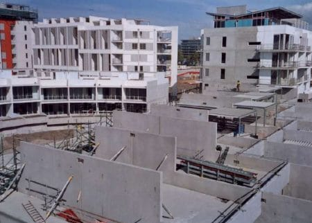 Large Panel Precast Concrete System Construction