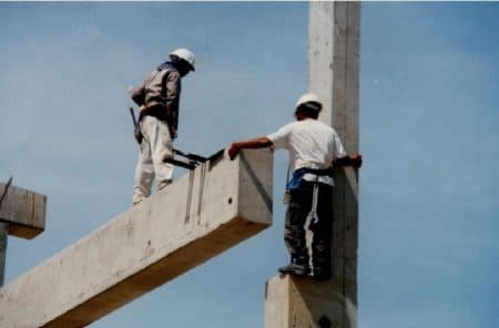 Precast Beam Erection