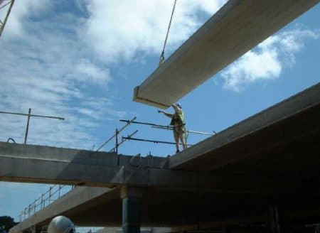 Precast Concrete Slab Placement