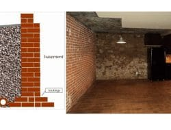 Brick Basement Wall- Construction Procedure, Practical Consideration