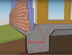 Brick Ledge – Design and Construction Procedure
