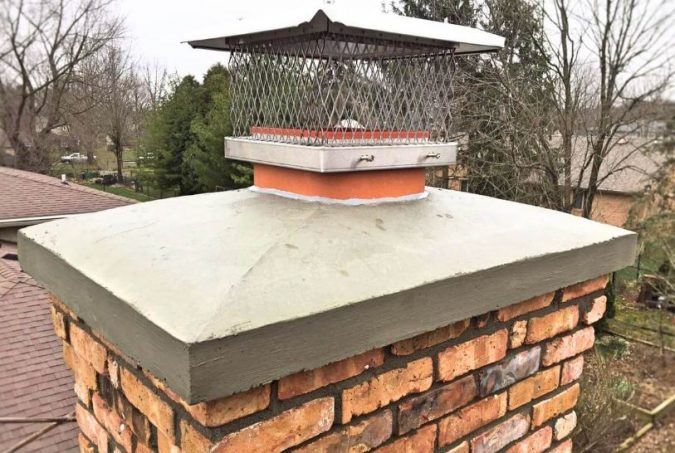 Construction Of Concrete Chimney Crown